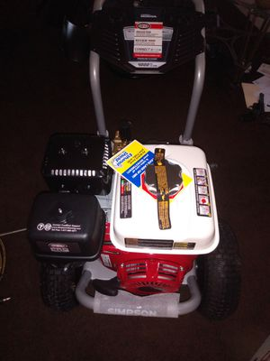 4000 PSI triple brand new pressure washer $650 serious buyers only for Sale in Fort Worth, TX