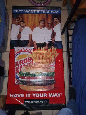 Backstreet Boys Project Burger King Promotion for Sale in Pinellas Park, FL