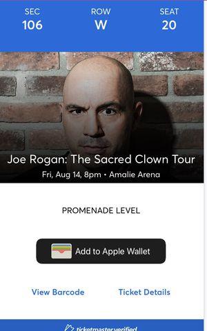 Joe Rogan Tickets for Sale in Tampa, FL