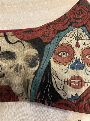 Day of the Dead Facial Coverings-Cubre Bocas de Dia de Muertos for Sale in Chicago, IL