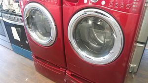 Lg Red Washer and Dryer Set for Sale in Santa Ana, CA