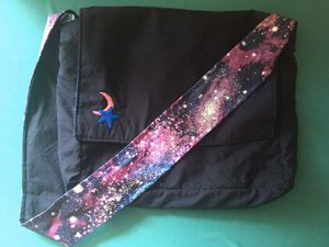 Homemade galaxy messenger bag for Sale in Aurora, CO