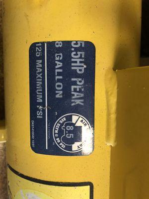 Campbell Hausfeld Air Compressor for Sale in Seattle, WA