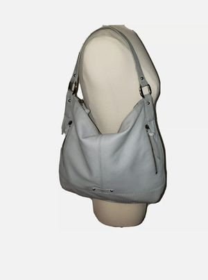 B. Makowsky Dove Grey Leather Tote Hobo Bag Handbag Purse for Sale in Miami, FL