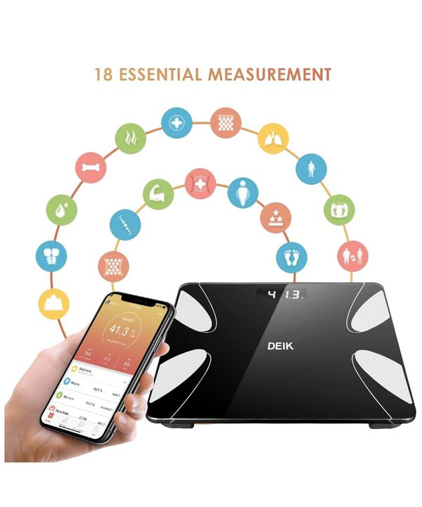 BRAND NEW Bluetooth Bathroom Scale