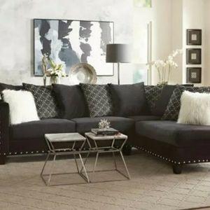 Black & White Sectional for Sale in Atlanta, GA