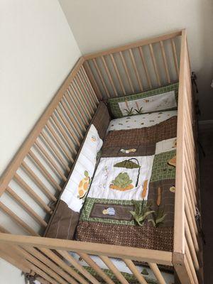 Baby Crib+ mattress + Bed Set for Sale in Arlington, VA