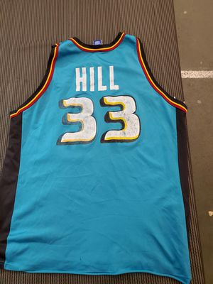 Vintage Large Champion Grant Hill Jersey with Worn Letters & #'s Hence the Great Price! for Sale in Chestnut Hill, MA