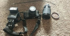 Minolta x570 with lenses for Sale in Royal Oak, MI