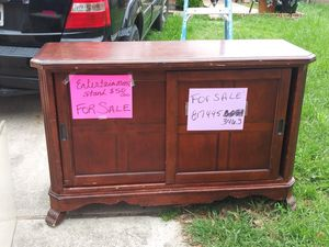 Tv cabinet for Sale in Burleson, TX