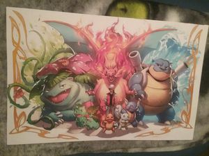 Pokemon Poster 11x17 for Sale in Riverside, CA