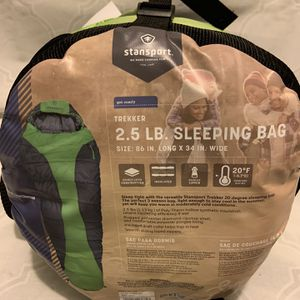 2.5lb Trekker Sleeping Bag for Sale in Long Beach, CA