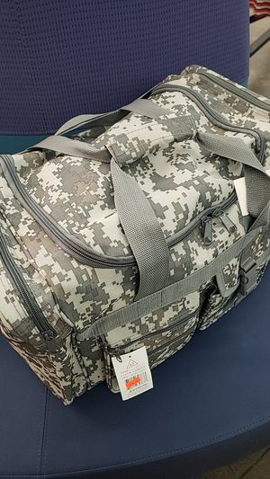 Duffle bag camouflage for Sale in Las Vegas, NV