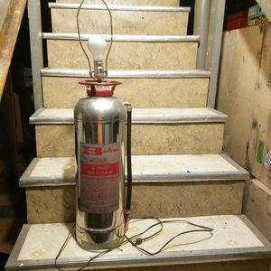 Antique Vintage fire extinguisher lamp. for Sale in Milford Mill, MD