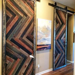 Custom made barn doors. Contact for more info! for Sale in Lemon Grove, CA