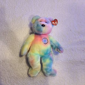 Beanie Baby - B.B Bear (Pastel) for Sale in Chicago, IL