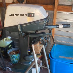 Johnson 6hp Outboard Boat Motor CLEAN for Sale in St. Cloud, FL