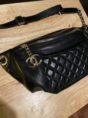 Black Chanel Waist bag for Sale in Cranford, NJ
