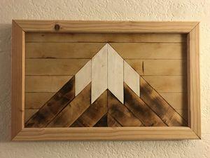Mountain Wood Wall Art for Sale in Kirkland, WA