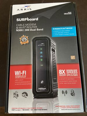 Modem router 2in1!!! Bernd new!!! for Sale in San Antonio, TX