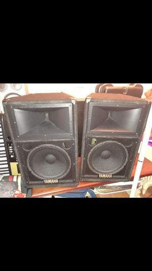 My price firm.Yamaha speakers great conditions passive almost new conditions price for both.$290 for both for Sale in Lake Worth, FL