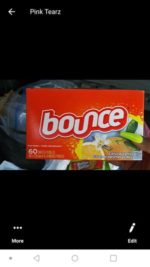 Bounce dryer sheets (60 count) for Sale in Norfolk, VA