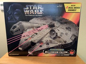 Star Wars Power Of The Force Millennium Falcon for Sale in Poway, CA