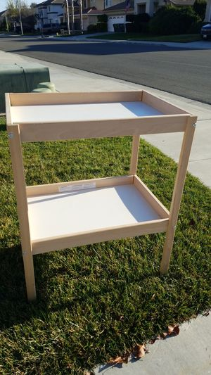 Free ikea changing table and baby gate for Sale in Menifee, CA