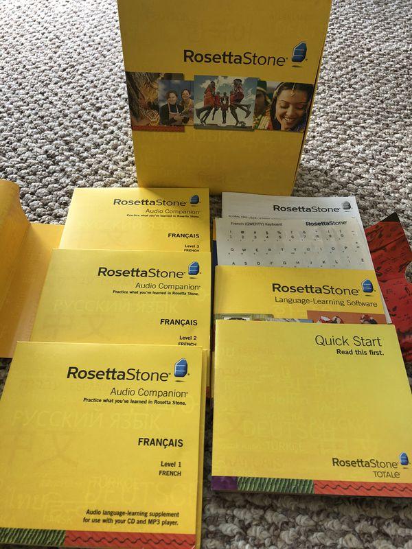 Rosetta Stone French