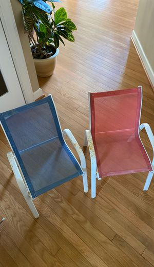 Kids Patio/Porch chairs for Sale in Chantilly, VA