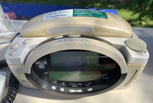 Conair telephone, radio, alarm clock for Sale in Buena Park, CA