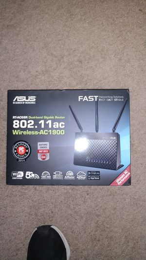Asus router ac 1900 for Sale in Highlands, TX