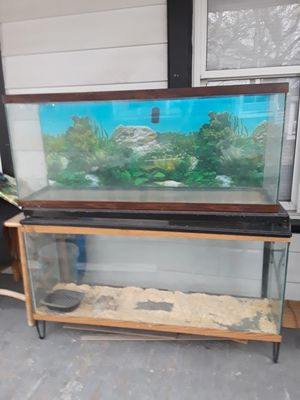 To 55 gallon fish tanks with stand for Sale in Cleveland, OH