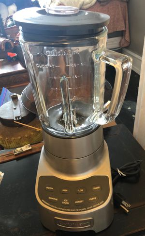 Cuisinart blender. Powerful beast. Only used 2x because I don't cook for Sale in Seattle, WA