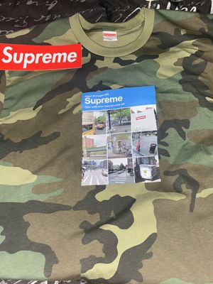 Brand new supreme verified tee size xl for Sale in Clinton Township, MI