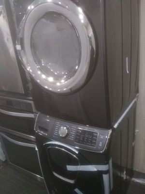 Samsung stainless steel kitchen and home appliances washer and dryer for Sale in Coronado, CA