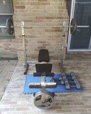 Exercise Weight Set for Sale in Cypress, TX