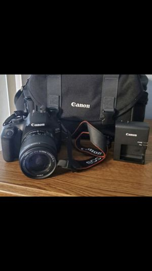 Rebel t6 canon eos for Sale in Royal Palm Beach, FL