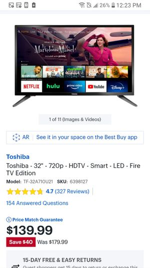 32 inch smart tv for Sale in Columbus, OH