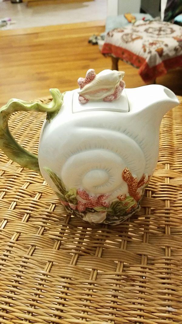 Ocean themed teapot