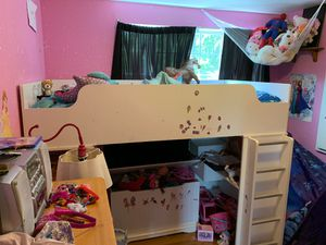 Twin size Loft bed for Sale in Federal Way, WA