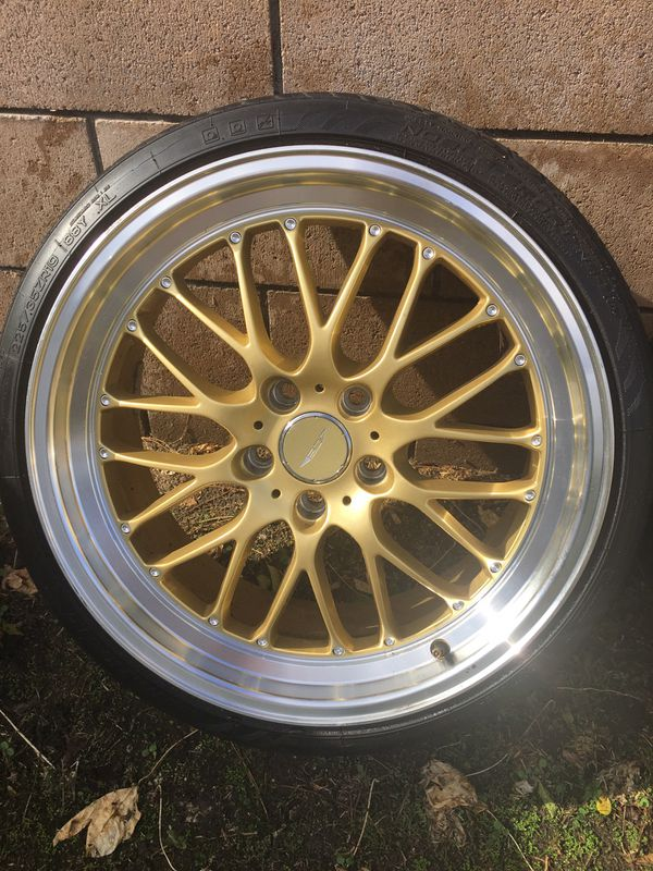 Ace Alloy Wheels And Tires 19x9.5