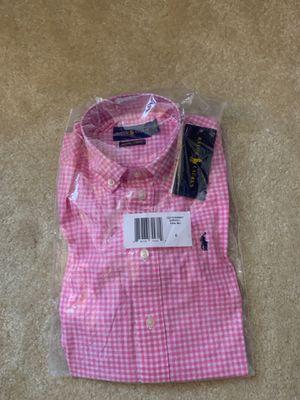 NEW Ralph Lauren Toddler Boys short sleeve shirt size 6 for Sale in Sterling, VA