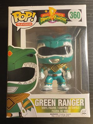 Funko POP TV: Power Rangers - Green Ranger Action Figure for Sale in Chicago, IL