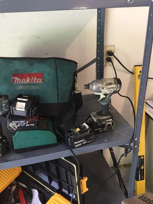 Drills batteries charger bag for Sale in Grand Rapids, MI