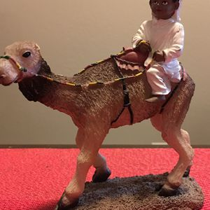Statue If Boy And Camel New for Sale in Costa Mesa, CA