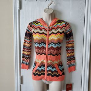 Missoni for Target Chevron Stripe Hoodie Sweater small for Sale in Houston, TX