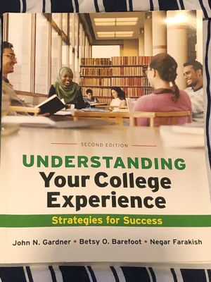 Understanding Your College Experience Strategies for Success Second Edition for Sale in Houston, TX