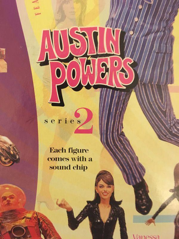 1999 McFarlane Toys Austin Powers- Vanessa Kensington Figure-Series 2