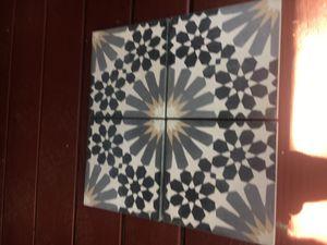 Ceramic glazed cement tile for Sale in Payson, AZ